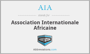 L'ASSOCIATION INTERNAIONALE AFRICAINE